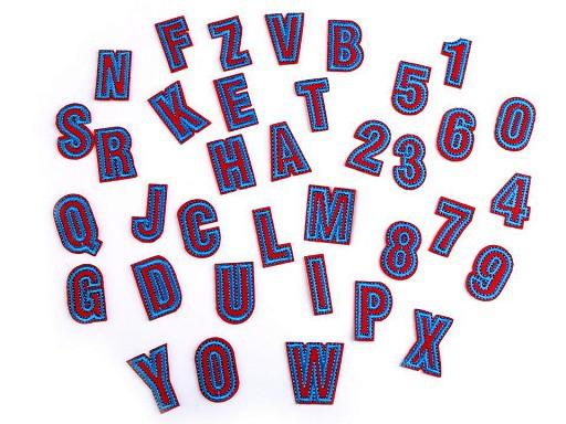 Nažehlovačka písmena / čísla