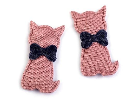 Textilní aplikace / nášivka kočka