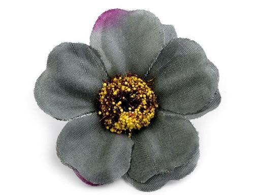 Umělý květ čajová růže Ø50 mm