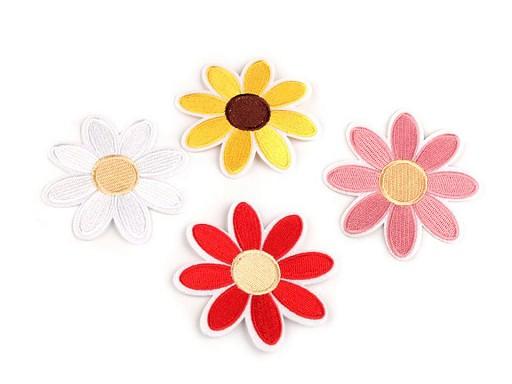 Velká nažehlovačka květ