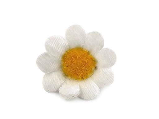 Umělý květ kopretina Ø30, Ø40 mm