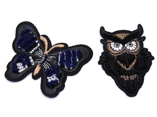Nažehlovačka motýl, výr 3D