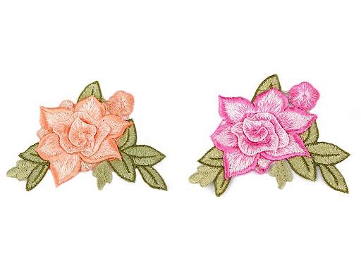 Nažehlovačka kvet 3D