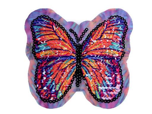 Aplikacja motyl magiczne cekiny