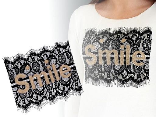Krajková aplikace Smile
