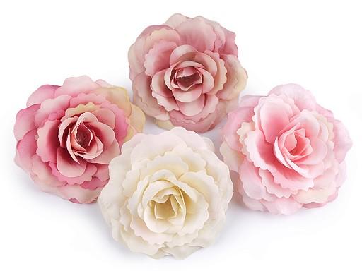 Umelý kvet ruže Ø80 mm
