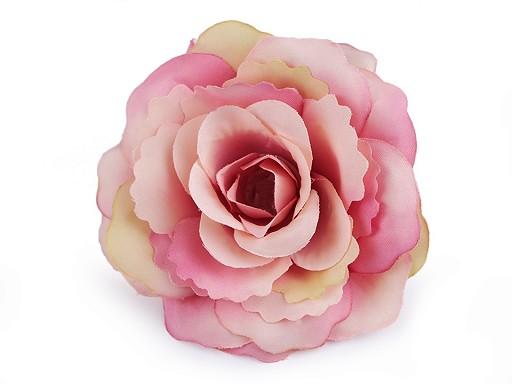 Róże sztuczne główki kwiatów Ø80 mm
