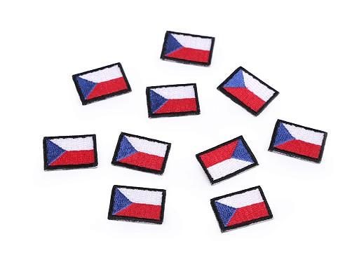 Nažehlovačka mini česká vlajka