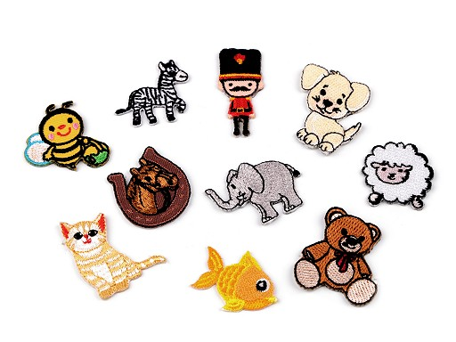 Iron-on Patch Animals, Soldier