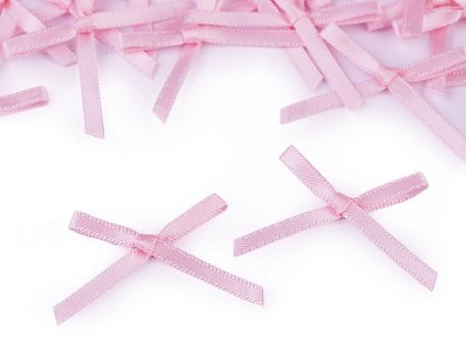 Svatební / prádlové mašličky / kotilion šíře 30-40 mm saténové