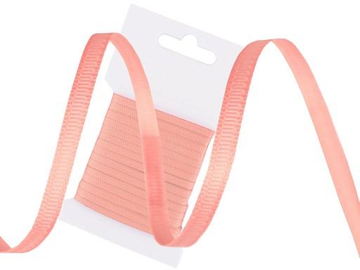 Rypsová stuha šíře 4 mm oboustranná