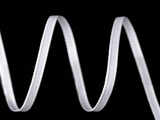 Rypsová stuha šírka 4 mm obojstranná