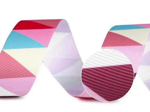 Rypsová stuha / lampas šíře 25 mm
