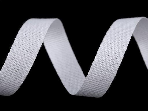 Bavlněná plátnová stuha šíře 12 mm
