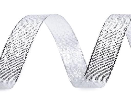 Brokát szalag lurexel szélessége 15 mm