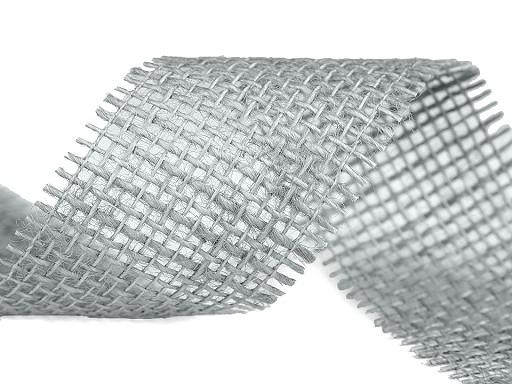 Jutová stuha šíře 55 mm