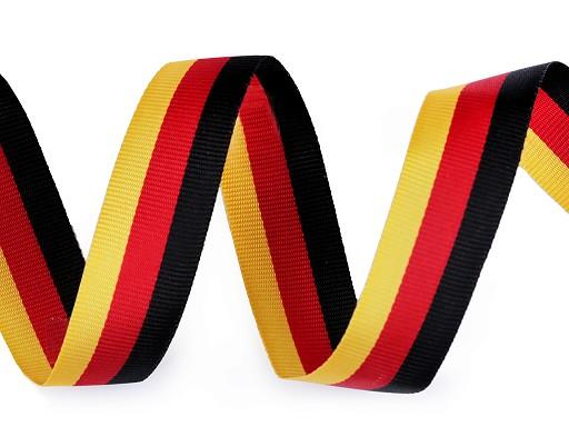 Wstążka trójkolorowa Niemcy szerokość 15 mm