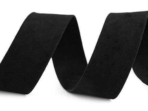 Semišová stuha velvet oboustranná šíře 25 mm