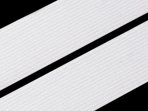 Pruženka hladká šíře 20 mm tkaná barevná