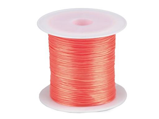 Pruženka / gumička plochá barevná 1 mm