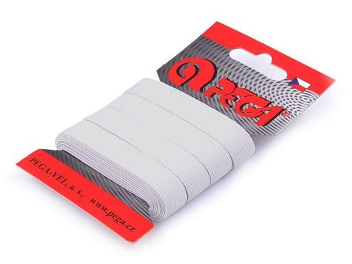 Prádlová pruženka na kartě šíře 12 mm