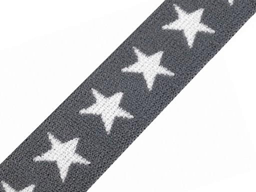 Pruženka šíře 20 mm hvězdy
