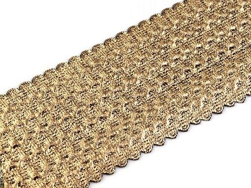 Lesklá guma šírka 50-54 mm