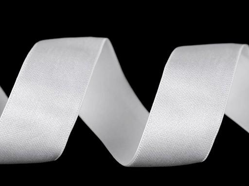 Saténová pruženka šíře 25 mm