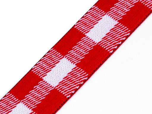 Guma miękka kratka szerokość 25 mm