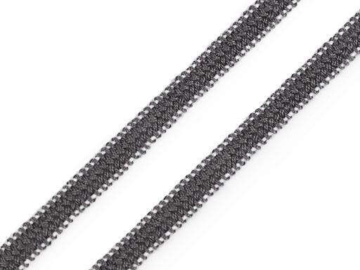 Paličkovaná plochá pruženka šíře 5 mm