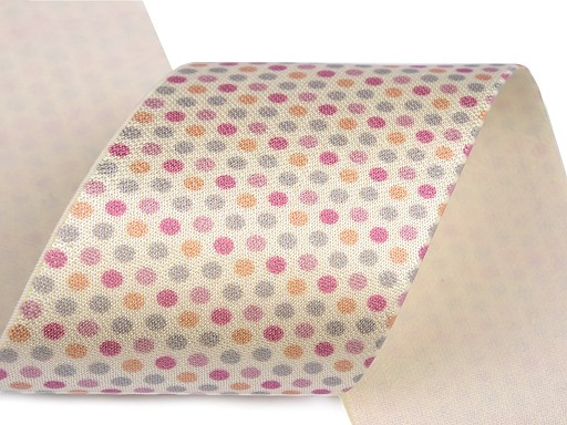 Satin Elastic with print width 50 mm