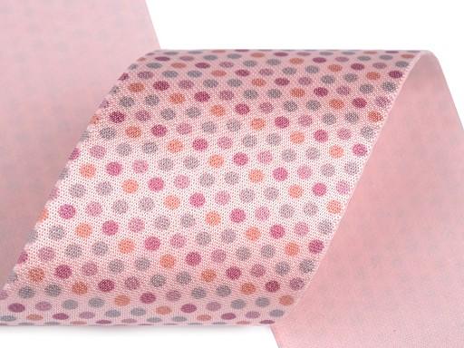 Satin Gummiband mit Druck Breite 50 mm