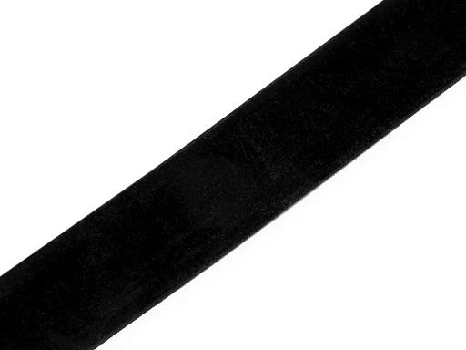 Tasiemka aksamitka elastyczna szerokość 30 mm