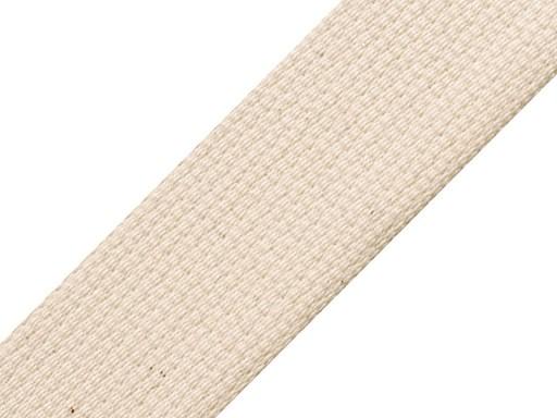 Cotton webbing width 40mm CZECH MADE
