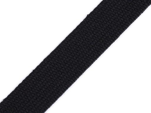 Bavlněný popruh šíře 20 mm