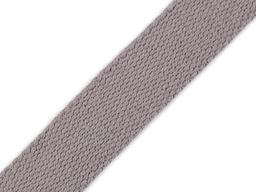 Bavlněný popruh šíře 25 mm
