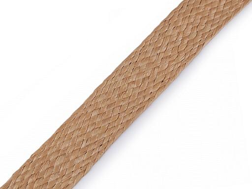 Splétaný popruh / slaměná páska šíře 30 mm