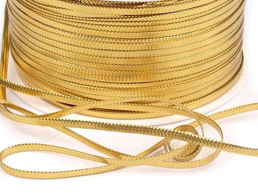Flat Shiny Decorative Braid Cord; width 2.5 mm