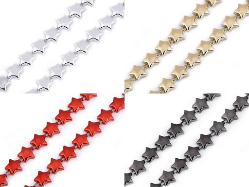 Řetěz - hvězdy šíře 10 mm