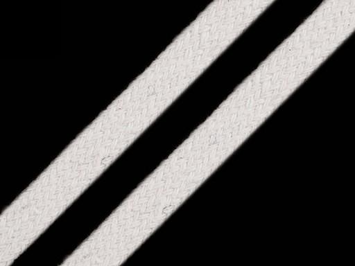 Oděvní / dekorační šňůra plochá šíře 10 mm