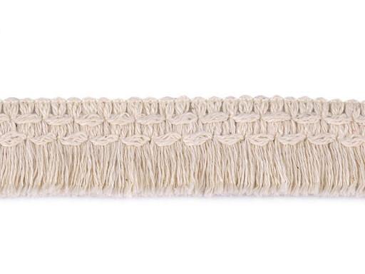 Frędzle bawełniane szerokość 25 mm
