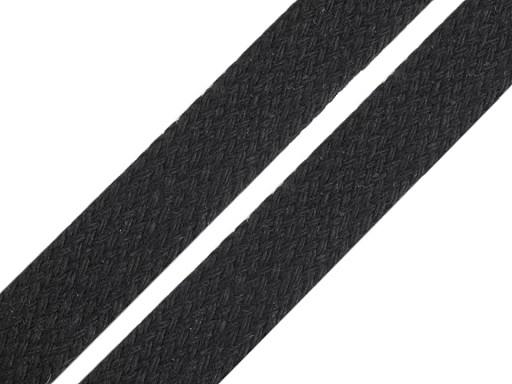 Bavlněná šňůra plochá / dutinka šíře 12-15 mm