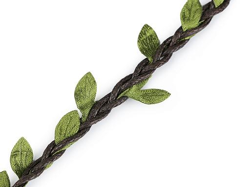 Prýmek šíře 30 mm s listy
