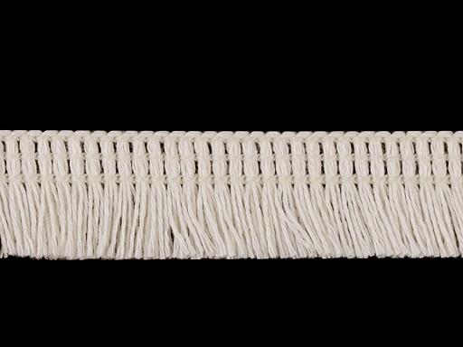 Bavlnené strapce odevné šírka 17 mm