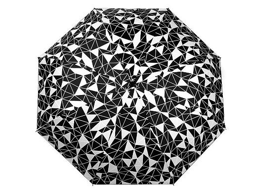 Dámsky skladací dáždnik fluorescenčný