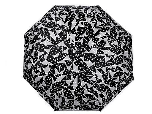 Dámský skládací deštník fluorescenční