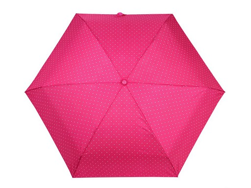 Parasolka damska składana mini kropki