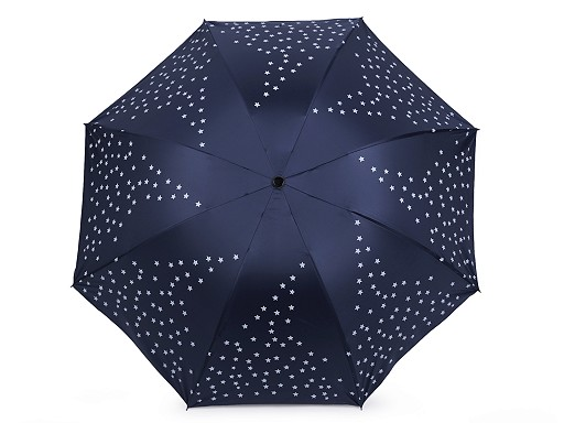 Dámský skládací deštník hvězdy