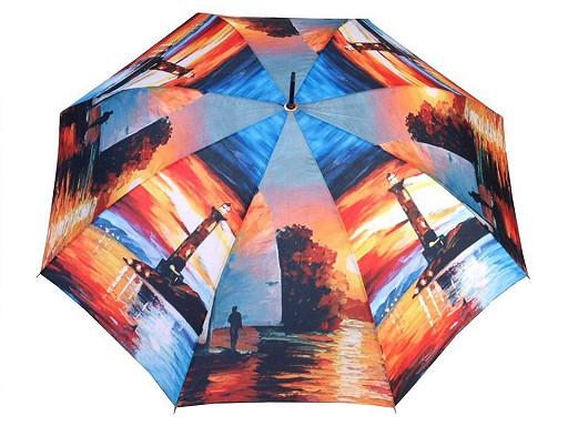 Dámský vystřelovací deštník