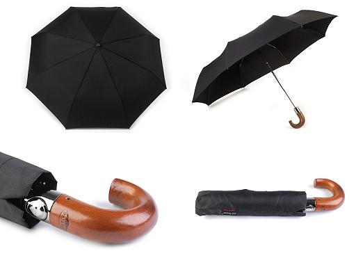Pánsky skladací vystreľovací dáždnik